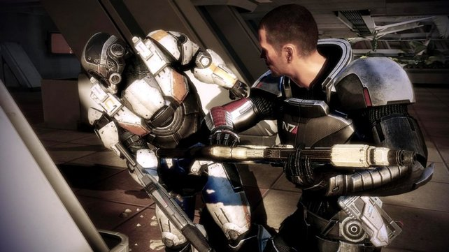 Mit neuen Nahkampf-Manövern dominiert Shepard die Feinde der Menschheit nun auch im Handgemenge.