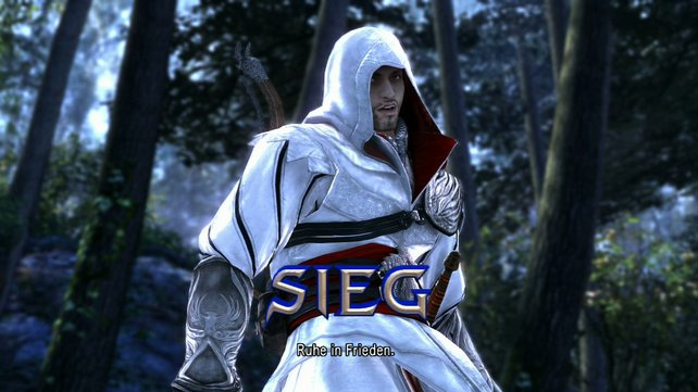 Als Gast-Star mischt Ezio aus Assassin's Creed 2 mit.