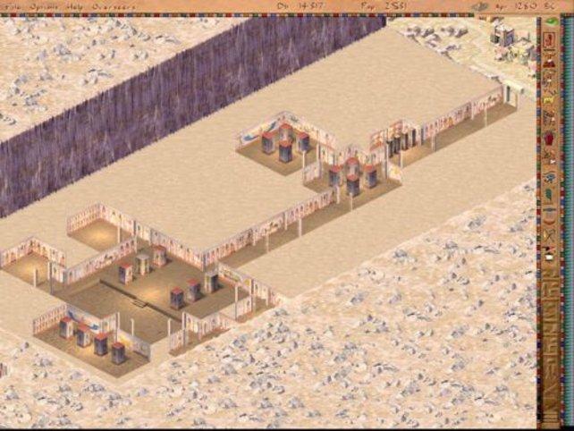 Eine große königliche Grabstätte.