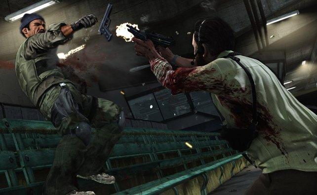 Der Ex-Polizist ist im dritten Teil der Serie als Leibwächter unterwegs.