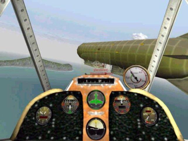 Angriff auf ein Zeppelin