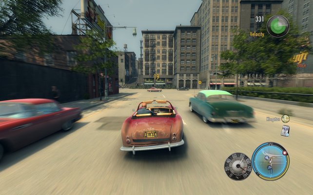 Kein GTA, auch wenn's so wirkt: Mafia 2.