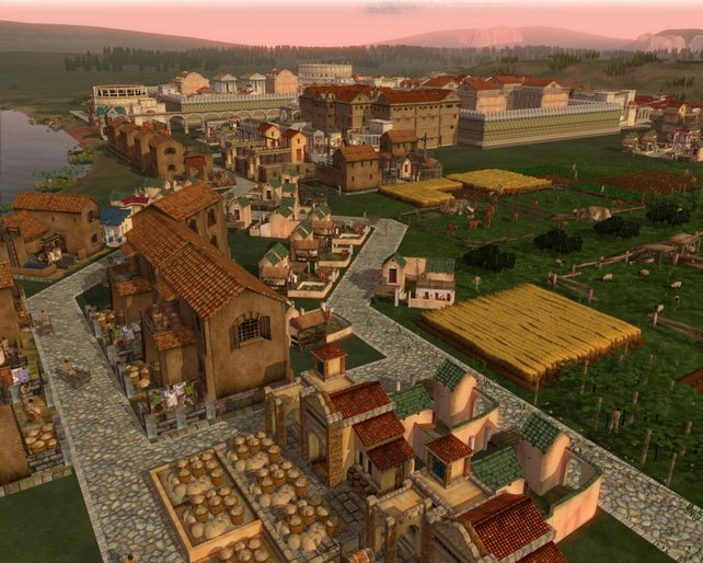 Eine imposante Stadt