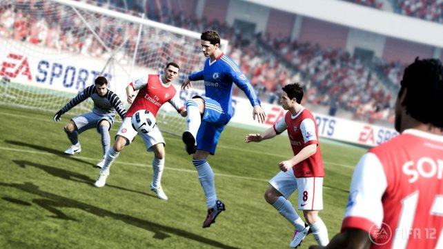 FIFA 12 will ein ausbalanciertes Spielerlebnis liefern.