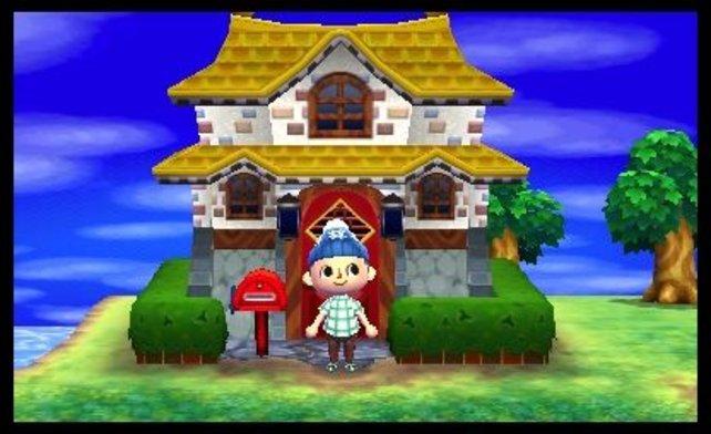 Über die Funktion StreetPass sammelt ihr die Häuser von anderen Spielern und könnt sie später im Musterdorf ansehen.