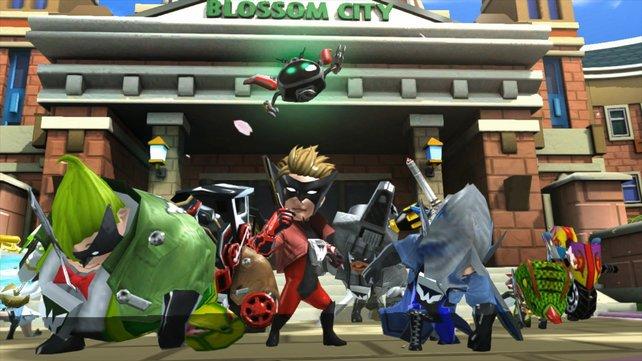 100 coole, maskierte Helden retten die Welt vor einer Invasion.