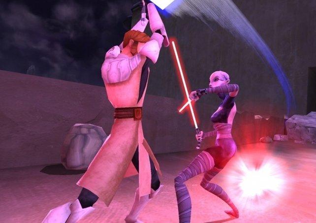 """Pfeif auf die Story: In """"Lightsaber Duels"""" stehen die Lichtschwertkämpfe im Vordergrund"""