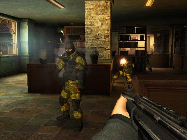 GoldenEye setzt vorrangig auf klassische Schussgefechte.