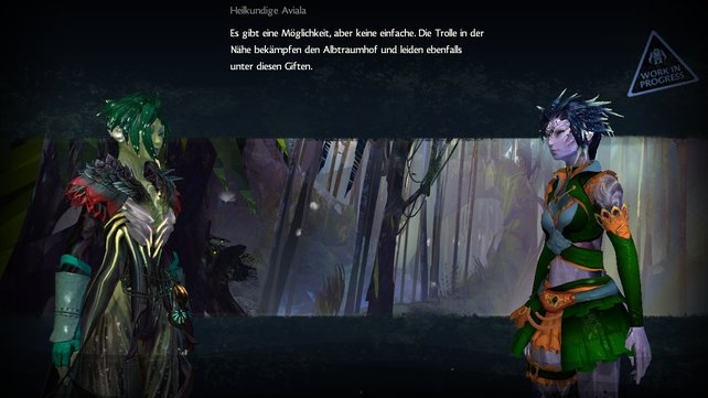 Eure Geschichte erzählt das Spiel mit kurzen, animierten Bildersequenzen.