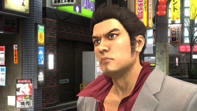 Serienveteran Kiryu Kazuma ist diesmal nicht der einzige spielbare Charakter.
