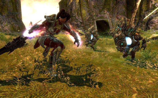 Lohnt es sich, Kingdoms of Amalur: Reckoning mit Skyrim zu vergleichen? Her mit eurer Meinung!
