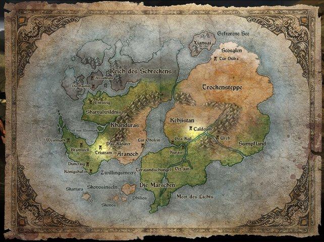 Sanctuario, die Welt von Diablo 3.
