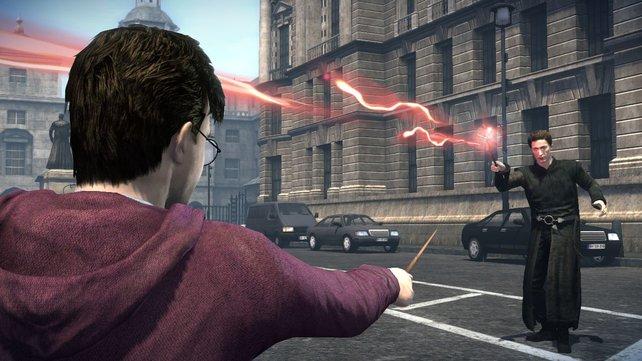Harry Potter als Ballerkönig: Der Zauberlehrling schießt sich durch die Welt.