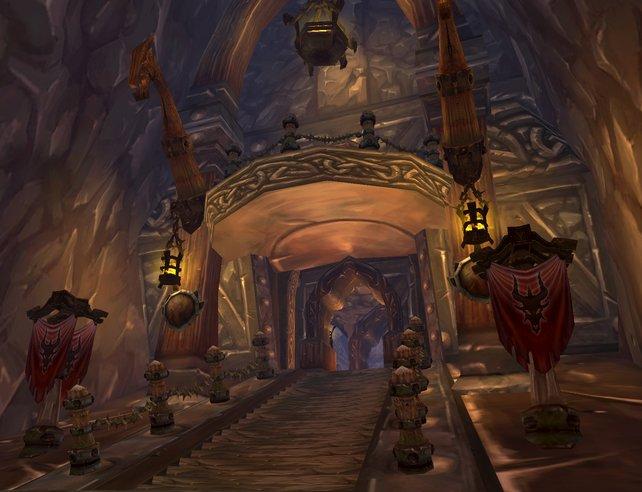 Burg Utgarde ist die erste Instanz im zweiten Addon