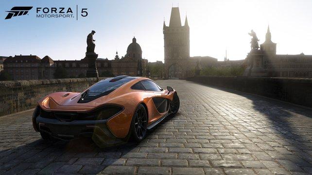 Forza Motorsport 5 beeindruckt optisch.