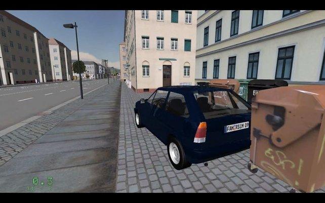 Mit diesem Boliden dürft ihr die Straßen unsicher machen - mit bis zu 52 Sachen in der Ortschaft!