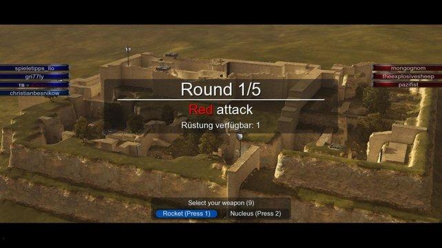 Im Belagerungs-Modus ist Mannschaftsgeist gefragt.