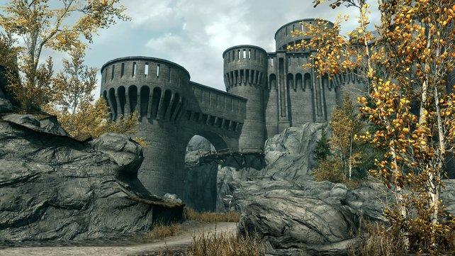 Schloss Dämmerwacht macht da schon einen besseren Eindruck.