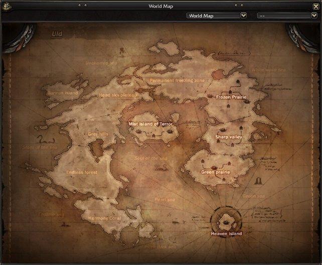 Irgendwo auf der Weltkarte warten spannende, individuelle Verließe auf euch!