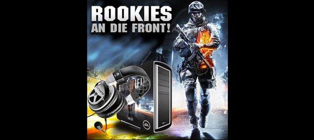 """Gibt es oben drauf! Einen Spiele-PC von Corsair und das """"Earforce XP7""""-Headset von Turtle Beach für jeden Gewinner."""