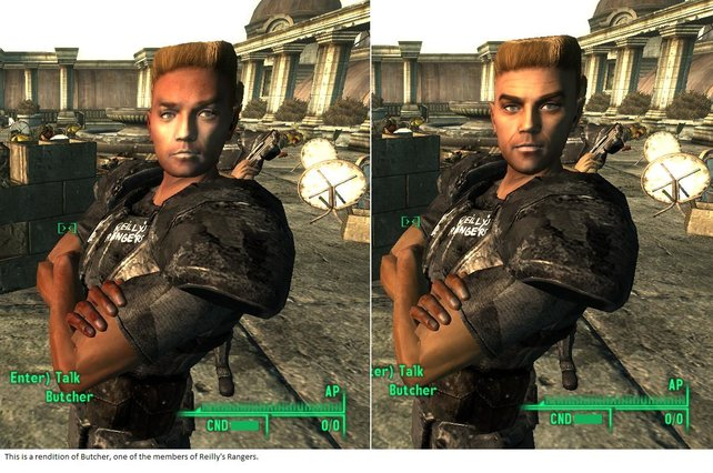 """Die Mod """"Redesigned"""" überarbeitet die Gesichter vieler Charaktere."""