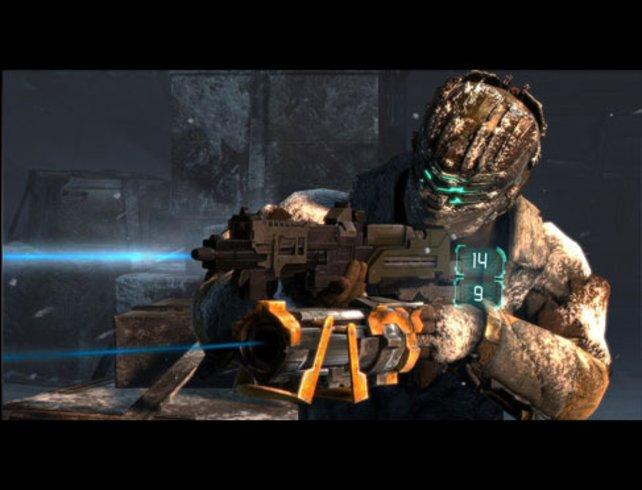 In Dead Space 3 gibt es nur noch eine Munitionsart.