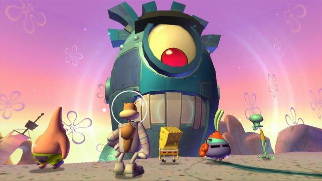 Spongebob und seine Freunde stellen sich einer neuen Herausforderung.