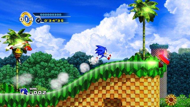 Solche Neuigkeiten verleiht Sonic noch mehr Speed: Begrüßt den Igel im Sommer wieder in 2D.