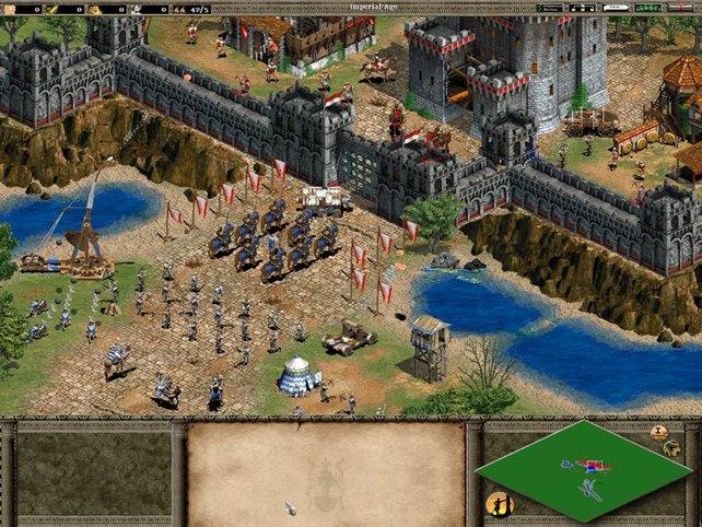 Die Tore lassen nur verbündete Einheiten passieren.