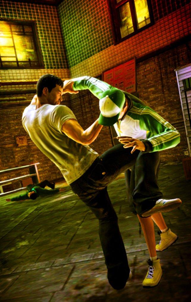 Der neue Hauptdarsteller Wei Chan beherrscht Kampfsport.