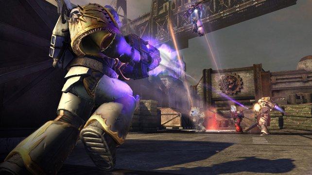 Die Arena-Szenarien bieten genug Platz für taktische Scharmützel.