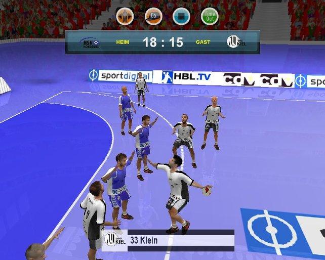Vielleicht hätte im 3D-Bereich eine Orientierung an EA auch gut getan!