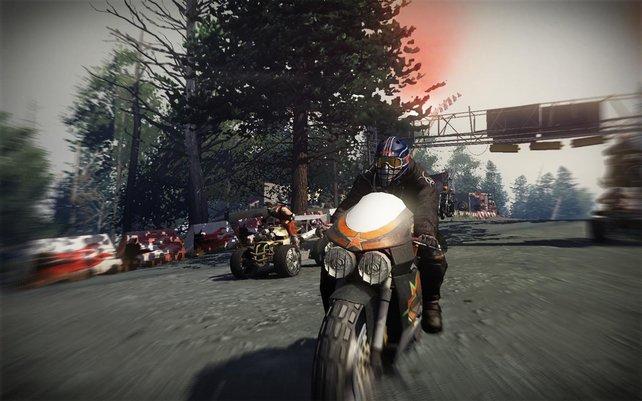 """Einem """"Fuel""""-Spieler ist es egal, was er fährt, so lange es Räder hat und schnell ist."""