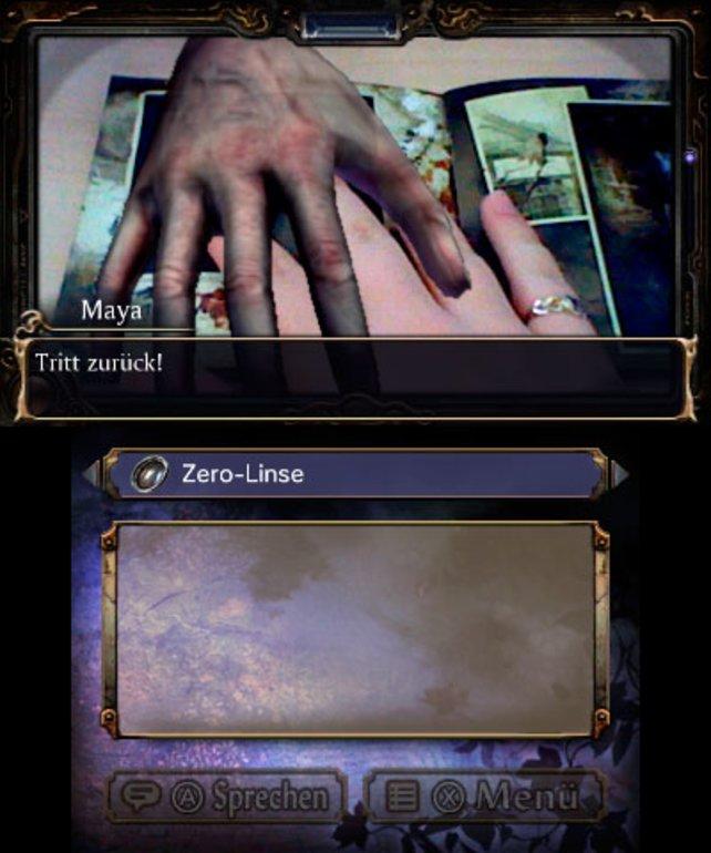Mit der 3DS-Kamera werden die Geister im beiliegenden Büchlein lebendig.