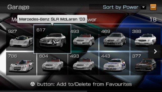 Das sind noch nicht mal alle Mercedes-Modelle!