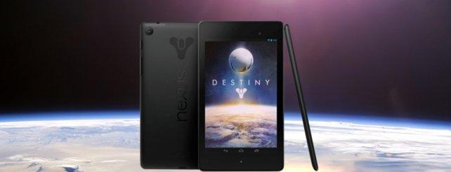 """Dieses """"Nexus 7""""-Tablet wartet auf seinen neuen Besitzer."""