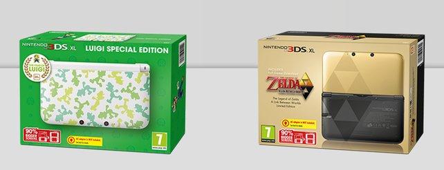 Nintendo: Luigi- und Zelda-3DS XL für November geplant