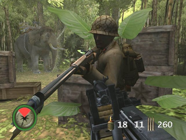Achtung, jeder Feind ist nun mit einem Bajonet bewaffnet.