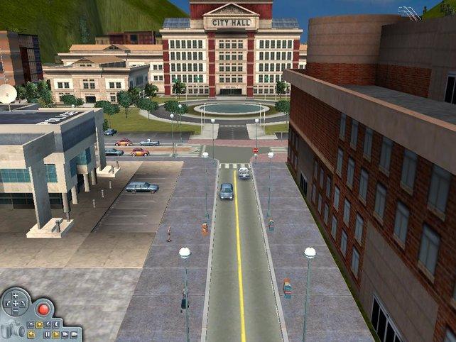 Die Zentrale der Stadt, das Rathaus