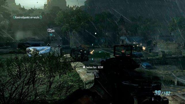 Regeneffekte, gute Sichtweite, hohe Polygondichte - alles kein Problem für Wii U.