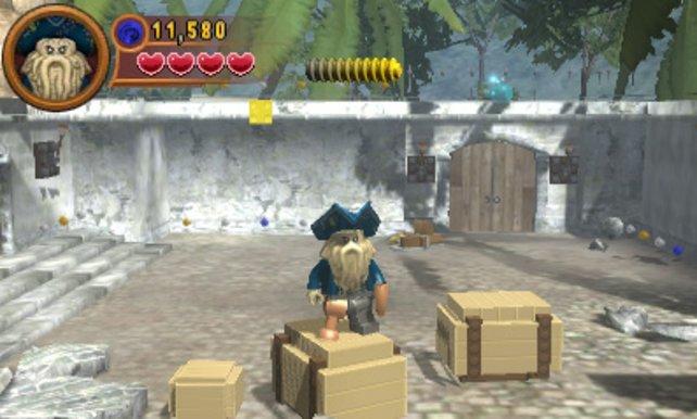Die Optik auf dem 3DS besticht durch räumlichen Eindruck.
