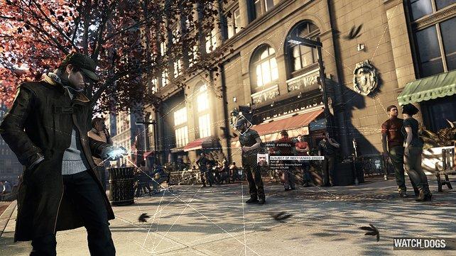 Hauptcharakter Ayden Pierce und seine wichtigste Waffe: das Smartphone.