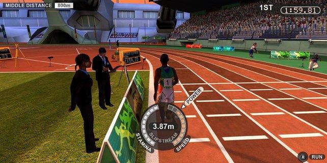 Beim 800m-Lauf sollte nicht nur der Athlet über genügend Ausdauer verfügen.