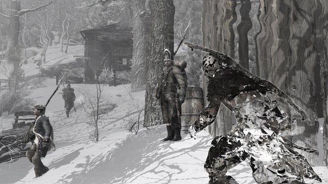 Beim sogenannten Wolfsmantel handelt es sich um eine Art Tarnkappe. Ihr könnt euch unsichtbar unter den Feinden bewegen.