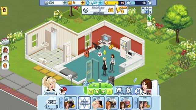 The Sims Social ist die Facebook-Version der bekannten Lebenssimulation.