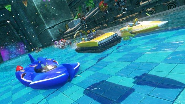 Zu Beginn des Spiels stehen euch hauptsächlich Charaktere aus dem Sonic-Universum zur Verfügung.