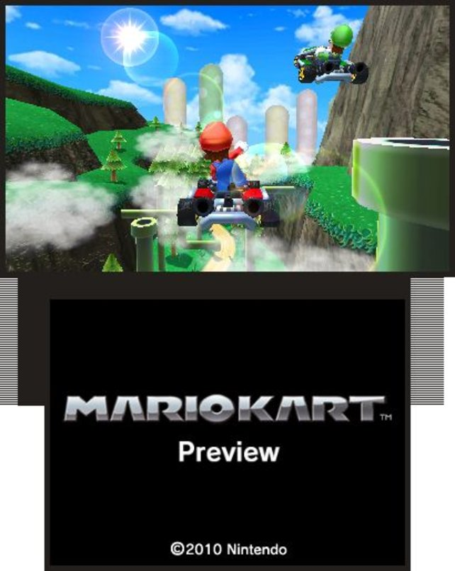 Mario Kart 3D: Kein Nintendo-System ohne den rasenden Klempner.
