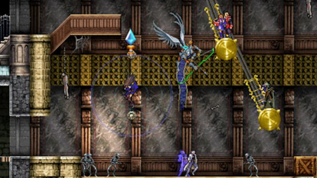 Mehrspielerspaß im Netz! Die Helden von Harmony of Despair bei der Arbeit.