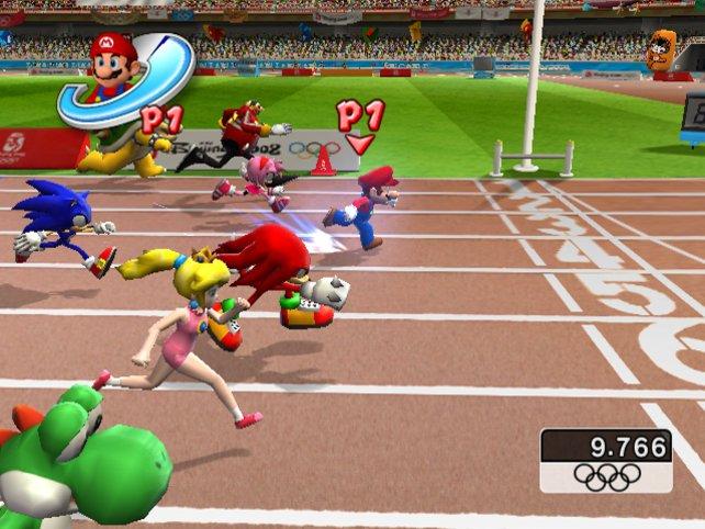 Auch abseits der Hüpfereien beweist Super Mario sein Können.