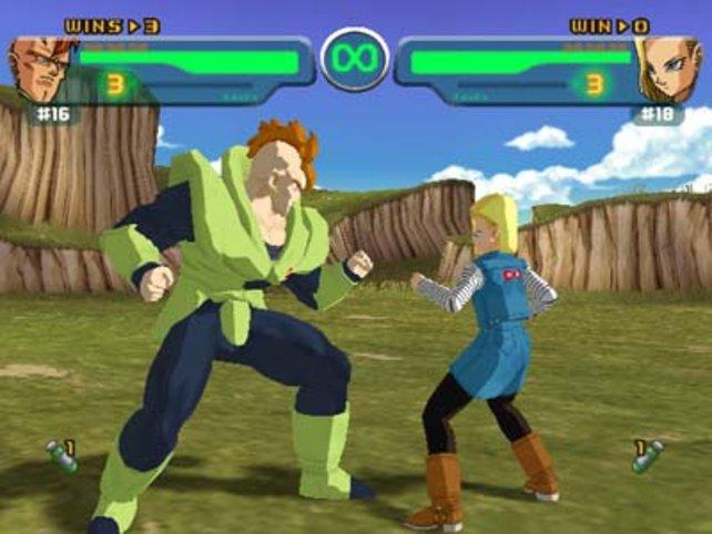 So gut wie in Dragon Ball Z: Budokai (2002) sah der Kampf gegen die Cyborgs noch nie aus.